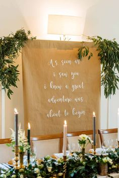 Passion for Flowers styled shoot at Mythe Barn. Natural organic style wedding flowers using lush foliage, gold accents. A barn ceremony & centrepieces