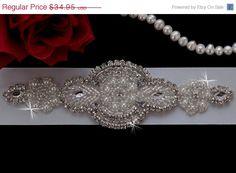 ON SALE  Wedding Bridal Sash Belt Bridesmaids by EleganceByKate, $29.95