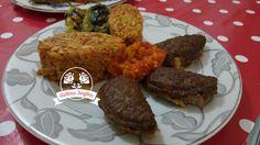 Patlıcanlı Köfte Tarifi | Güllerin Tarifleri Tandoori Chicken, Ethnic Recipes, Food, Meals