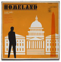 Ty Mattson: Homeland-Inspired Vintage Record Covers