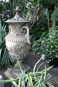 Urn, Palm House, Botanic Gardens, Belfast