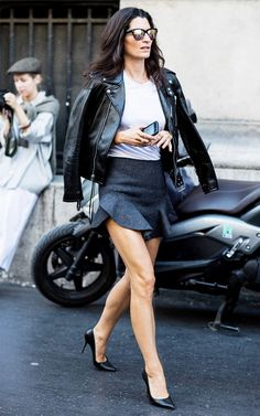 A Fashion Editor–Inspired Way to Wear Your Miniskirt | WhoWhatWear.com