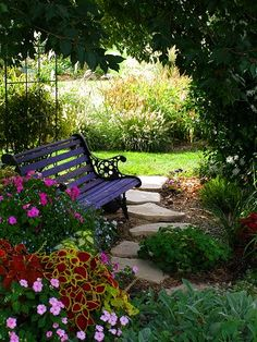 very nice shady spot, inviting for a cup of coffee in the morning or a cool drink or simply a break in the afternoon to stop and meditate.