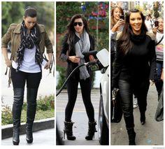 Kim Kardashian looks