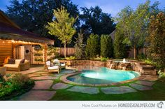 It's always good to have a whole pool. Based on the size and form of your backyard, you can choose where the pool should go and how it ought to be shaped. Every pool needs to be cleaned. Backyard Pool Landscaping, Backyard Pool Designs, Small Backyard Pools, Outdoor Pool, Small Backyards, Landscaping Ideas, Backyard Ideas, Pool Decks, Modern Backyard