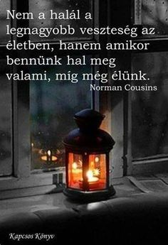 Norman Cousins ​​thought of loss.- Norman Cousins gondolata a veszteségről. A kép forrása: Kapcsos könyv Norman Cousins ​​thought of loss. Positive Life, Positive Thoughts, Deep Thoughts, Favorite Quotes, Best Quotes, Words Quotes, Life Quotes, Smoothie Fruit, Dont Break My Heart