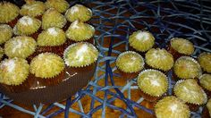 Pitadas De Açúcar...: Beijinhos De Amêndoa E Batata Doce