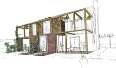 Architectural rendering / drawing