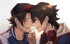 "Jiro and ichiro yamada "" Hot Anime Guys, Cute Anime Boy, I Love Anime, Happy Tree Friends, Vocaloid, Manga, Anime Siblings, Butler Anime, Avatar Couple"