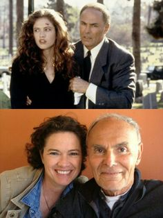 Wes Craven's New Nightmare with John Saxon and Heather Langenkamp... Then and Now.