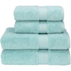 Supreme Hygro US Bath Sheet Color: Icicle featuring polyvore, home, bed & bath, bath, bath towels, fillers, christy bath towels and colored bath towels