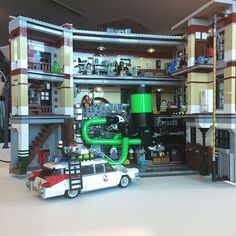 Ghostbusters PC case Ghostbusters Cake, Original Ghostbusters, Extreme Ghostbusters, Gaming Pc Build, Nerd Stuff, Cool Stuff, Pc Cases, Lego Creations, Long Live