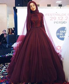 What happened in yesterday?:separator:What happened in yesterday? Muslimah Wedding Dress, Muslim Wedding Dresses, Muslim Brides, Wedding Hijab, Muslim Dress, Bridal Dresses, Prom Dresses, Muslim Girls, Muslim Couples