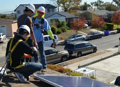 Last week, GTM Research's solar team exchanged its analyst caps for hard hats and did some real solar field work. Volunteering under the guidance of GRID Alternatives, the nation's largest nonprofit solar installer, the team installed a 3-kilowatt residential system on a family's roof in San Diego.