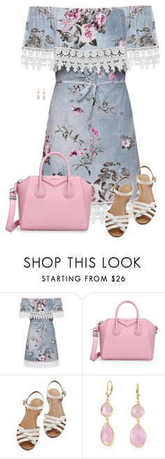 """""""Off Shoulder Summer Dress"""" by daiscat ❤ liked on Polyvore featuring WearAll, Givenchy, Bass and Bling Jewelry"""