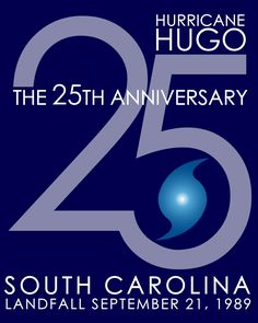 Throughout the 2014 Atlantic Hurricane Season, SCEMD will be highlighting Hugo's long-lasting impacts on the Palmetto State and looking ahead to make sure everyone is better prepared for emergencies.  Share your Hurricane Hugo story using hashtag #HUGO25,  info: scemd.org, www.twitter.com/SCEMD, www.facebook.com/SCEMD