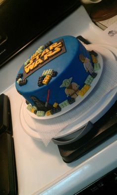lego star wars cake- love this one, just never enough time