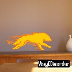 Wolves Wall Decal - Vinyl Sticker - Car Sticker - Die Cut Sticker - DC 002