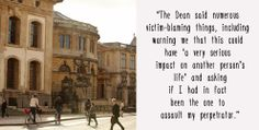 """""""It Happens Here"""": The Campaign Highlighting Sexual Violence At Oxford University"""