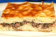 Kıymalı Sodalı Börek Tarifi Spanakopita, Cheesesteak, Meat, Ethnic Recipes, Food, Essen, Meals, Yemek, Eten