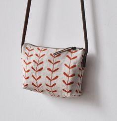 SMALL BAG  sprig by bookhouathome on Etsy, $35.00