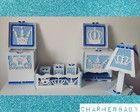 Kit higiene príncipe (azul claro bolinha