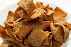 Injera Crisps - Food For Thought