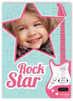 Παζλ Rock Star Personalized Puzzles, Rock, Movies, Movie Posters, Films, Skirt, Film Poster, Locks, Cinema