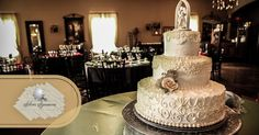 Our all-inclusive wedding packages include gorgeously beautiful and deliciously delectable bridal cakes. Doesn't that just take the cake?! ;)