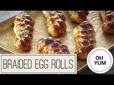 Braided Egg Rolls | Oh Yum with Anna Olson - YouTube