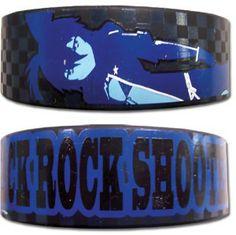 Black Rock Shooter Wristband: Black Rock Shooter PVC