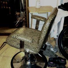 My DIY salon chair fix!!