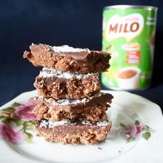 Green Gourmet Giraffe: Milo weetbix slice