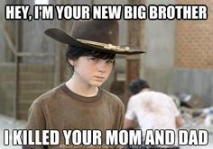 "Carl: | 46 Things You'll Only Find Funny If You Watch ""The Walking Dead"""
