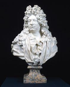 Pierre-Michel Du Plessis, by Jean-Louis Lemoyne. 1694. (Musée d'Aquitaine, Bordeaux).