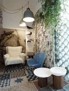 Designblok 2014 - installation. Interior: Formafatal