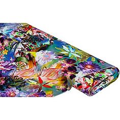 """Tissu jersey """"Paradise Island"""", multicolore   acheter en ligne sur buttinette - loisirs créatifs"""