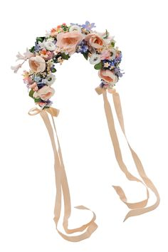 """Morgentau"" flowercrown by miss lillys hats"