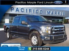 2015 Ford F-150 XLT 13k miles $35,995 13413 miles 215-688-5244 Transmission: Automatic  #Ford #F-150 #used #cars #PacificoMarpleFordLincoln #PikeBroomall #PA #tapcars