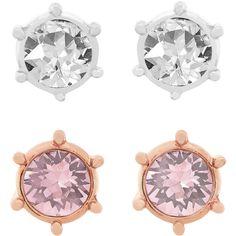 2262be7cb SWAROVSKI BOTANIC PIERCED EARRINGS SET 5071152 | Duty Free Crystal Stud  Earrings, Pierced Earrings,