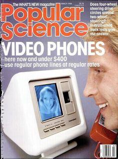 Video Phones (Popular Science, March 1988)