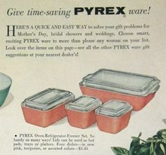 give time saving pyrex ware - 628×588