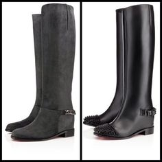 The New Boots - @Christian Louboutin- #webstagram