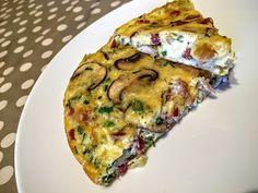 Frittata, I Foods, Brunch, Breakfast, Recipes, Breakfast Cafe, Rezepte, Recipe, Omelet