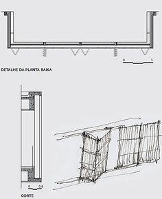 Esquadria de bambu do tipo camarão é destaque de casa criada por Marcio Kogan e Diana Radomysler em Ilhabela, SP | aU - Arquitetura e Urbanismo