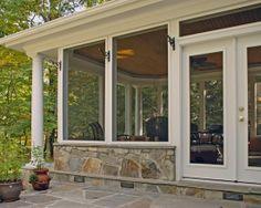 SUNROOM Porch INTERIOR DESIN IDEAS | Screened Porch Design