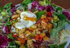 Barevný podzimní salát - Spicy Crumbs