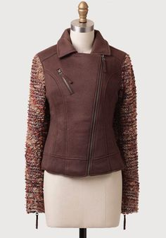 """at Ruche// """"autumn spice"""" boucle detail jacketr"""