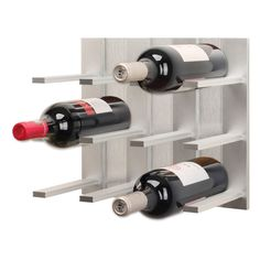 Top Wine Rack / Modular Wall Mounted Wine Rack