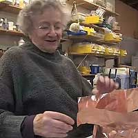 June Schwarcz - a video. She enamels, she doesn't do pottery, but I want to watch this. What she has to say is applies to pottery.